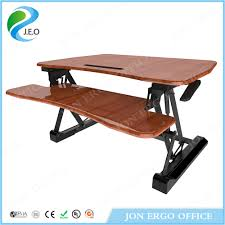 Ergonomic Computer Desk China Ergonomic Computer Sit Stand Desk Standing Desk Jn Ld07