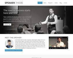 Speaker Templates The Speaker Wordpress Theme Nexus Themes