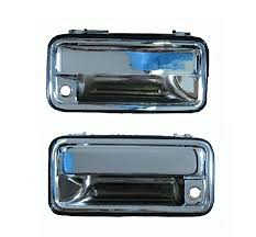 1995 1998 chrome outside drivers and pengers side pair for chevy silverado ck pickup