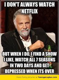 Netflix Meme | Funny Pictures via Relatably.com
