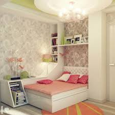 Impressive Girls Bedroom Decors With White Bed Frames Also Bookcase Ideas  In Wonderful Small Bedroom Ideas