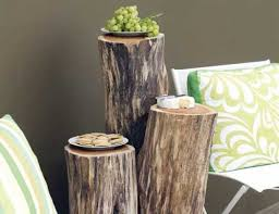 wood decorations for furniture. Awesome-diy-outdoor-table-of-wood-logs-1- Wood Decorations For Furniture D