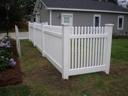 vinyl picket fence front yard. Victorian Picket. This Vinyl Fence Serves As A Decorative Accent To Front Yard. Picket Yard D