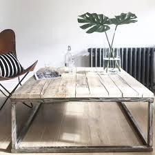 Steel Coffee Table Frame Coffee Tables Notonthehighstreetcom