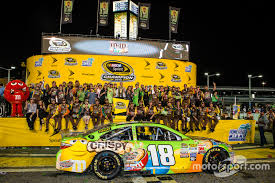 Victory Lane Race Winner And 2015 Nascar Sprint Cup Series