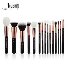 dels about jessup best makeup brushes 15pcs cosmetic set powder check eyeshadow eyeliner