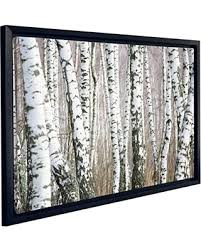jp london fcnv2165 framed gallery wrap heavyweight birch tree forest naturescape black and white canvas art on white birch tree wall art with hot summer sales on jp london fcnv2165 framed gallery wrap
