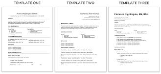 Resume For Nurses Templates Nurse Resumes Free Templates Best Practices Nomad