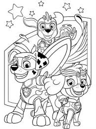 So many printable paw patrol coloring sheets featuring. Kids N Fun Com 24 Coloring Pages Of Paw Patrol Mighty Pups