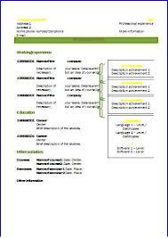 Cv Templates Design 2 Resume Templates
