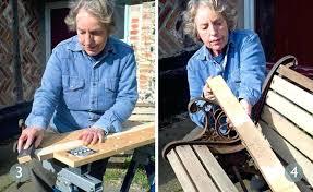 garden bench repair kit replacing wooden slats on metal with tutorial outdoor ideas bedrooms for
