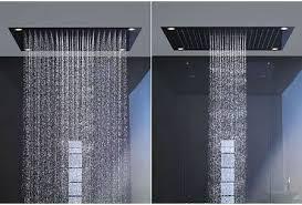 capricious hansgrohe rain head axor shower system rain select set costco 120