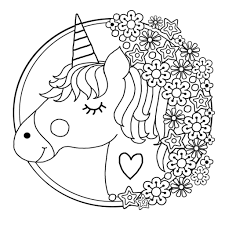 Get the markers out and make an average day a little more magical (for free!) by printing out a few of our favorite fairy, rainbow, and baby unicorn coloring pages. Free Printable Unicorn Colouring Pages For Kids Buster Children S Books Unicorn Coloring Pages Emoji Coloring Pages Coloring Pictures For Kids
