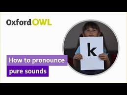 It is used to spell out words when speaking to someone not able to see the speaker, or when the audio channel is not clear. Phonics How To Pronounce Pure Sounds Oxford Owl Youtube