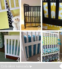 How to sew a crib bedding and nursery essentials  Sewing tutorials roundup
