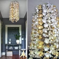 cer paper lantern chandelier make a flower