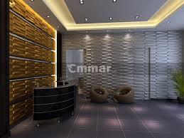 lounge hall wall decor idea