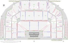 Oslo Spektrum Arena Detailed Seat Row Numbers Concert