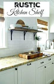 open wooden kitchen shelves open wooden shelves amazing rustic kitchen shelf simple home farmhouse decor style