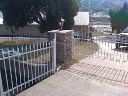 48 gray wrought iron fence Andrew Thomas Contractors Denver CO