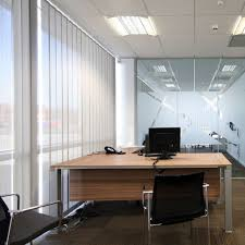 office window blinds. Enfield Office Vertical Blinds Flame Retardant Window