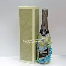 wine packaging template wine champagne bottle box template