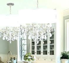 large drum shade chandelier light 5 white crystal lovely dining room remodel captivating chandel