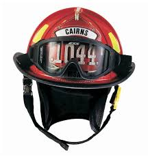 msa cairns 1044 traditional style fire helmet