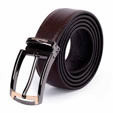 canwelum genuine men s leather belt coffee leather belts for men real soft leather belt designed with stripe pattern fashionable and classical style