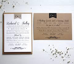 Vintage Wedding Invitation Elegant Type Vintage Wedding Invitation By Rodo Creative