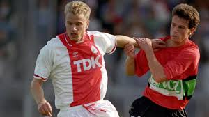 a beautiful mind dennis bergkamp s perfect moment premier dennis bergkamp in action for ajax in 1990