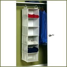 hanging closet rod double organizer target s maid cube hang diy hanging closet rod
