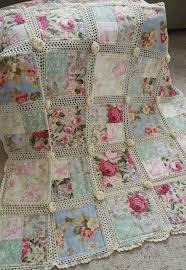 Crochet and fabric quilt - Tutorial and pattern - Free Pattern ... & post-75127-0-38439900-1449115828_thumb.jpg. Crochet and fabric quilt -  Tutorial ... Adamdwight.com