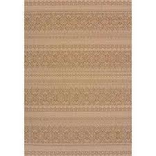 alfresco brown 3 ft x 4 ft indoor outdoor area rug