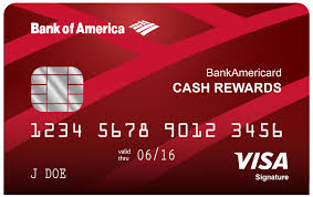 Card Easy Bank America Of Rewards - Credit