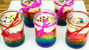 rainbow cupcakes wallpaper. Modren Wallpaper Rainbow Cupcakes In A Jar How To Make By Cookies And Cardio   YouTube On Wallpaper B