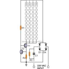 simple current controlled led tube light circuit diagram simple current controlled led tube light circuit diagram homemade circuit projects elektronÄ°k simple circuit diagram and homemade