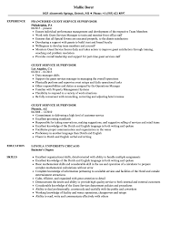 Supervisor Responsibilities Resume Guest Service Supervisor Resume Samples Velvet Jobs 10