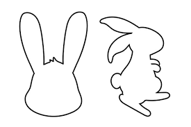 Easter Template Easter Bunny Template The Best Ideas For Kids