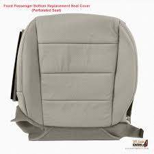 2007 2008 acura tl type s passenger bottom perforated leather seat cover gray 1 of 1free