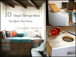 Small Picture 10 Unique Storage Ideas For Your Tiny House Living Big In A Tiny