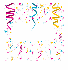 Free Birthday Backgrounds Happy Birthday Background Papers Blue Confetti Png Free
