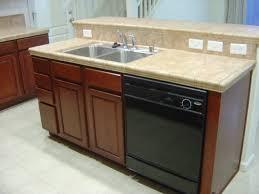 Image of: Kitchen Island with Sink Dishwasher