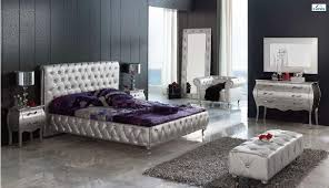 silver modern bedroom