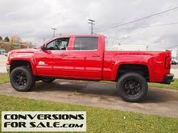 gmc 2015 truck red. 2015 gmc sierra 1500 sle rocky ridge alpine lifted truck gmc red