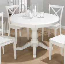 excellent white dining room table and chairs