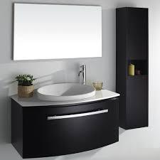 jwh living grand lune single vessel modern bathroom vanity set