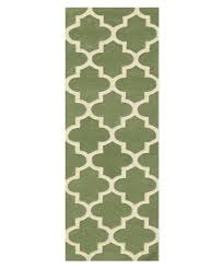 arabesque sage green runner tap to expand