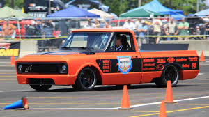 Check Out This Striking Orange 1969 Chevy C10 Pickup Destroying ...