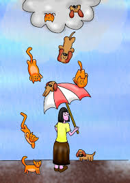 animated raining cats and dogs. Modren Dogs Its Raining Cats And Dogs By Littlemisskirby  To Animated And N